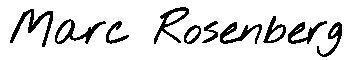 Marc Rosenberg Logo